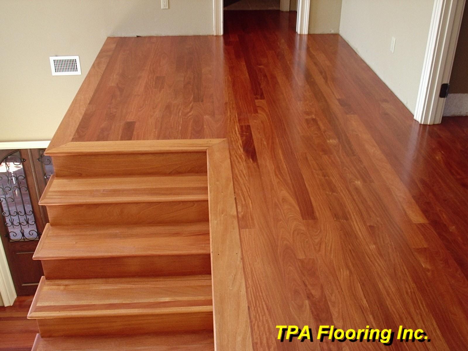 Brazilian cherry hardwood flooring flooring ideas home for Brazilian cherry flooring
